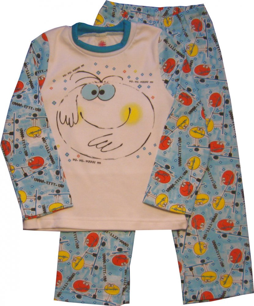 "Пижама для мальчика ""BU"" (Размер: 92-98)"