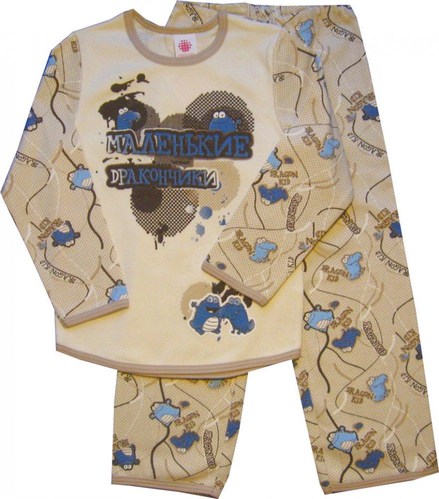 Пижама Маленькие дракончики (Размер: 92-98)