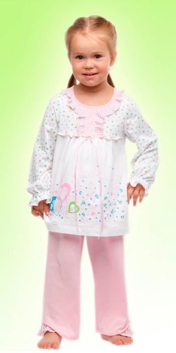 Пижама для девочки (Размер: 86-92)